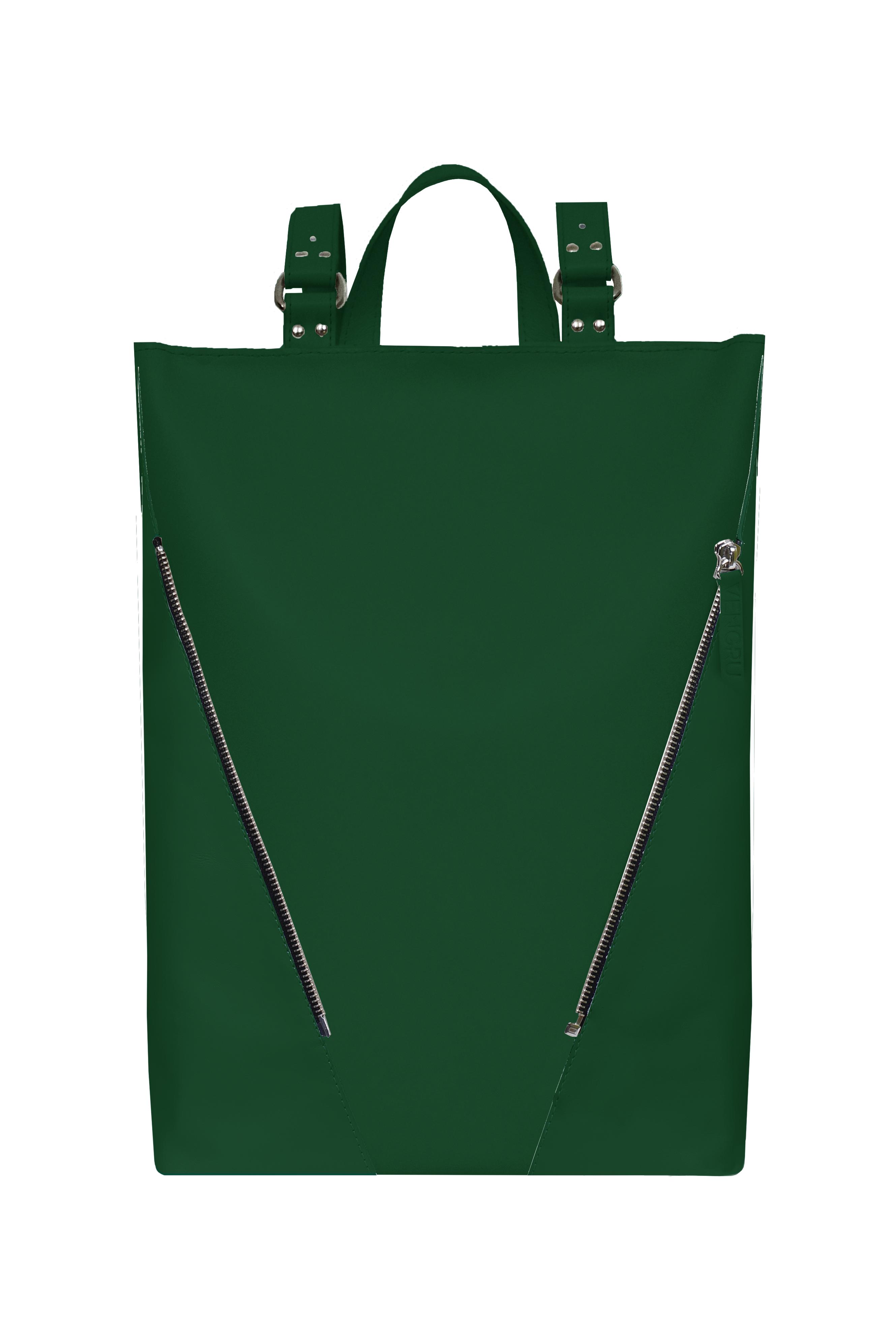 zöld designer hátizsák