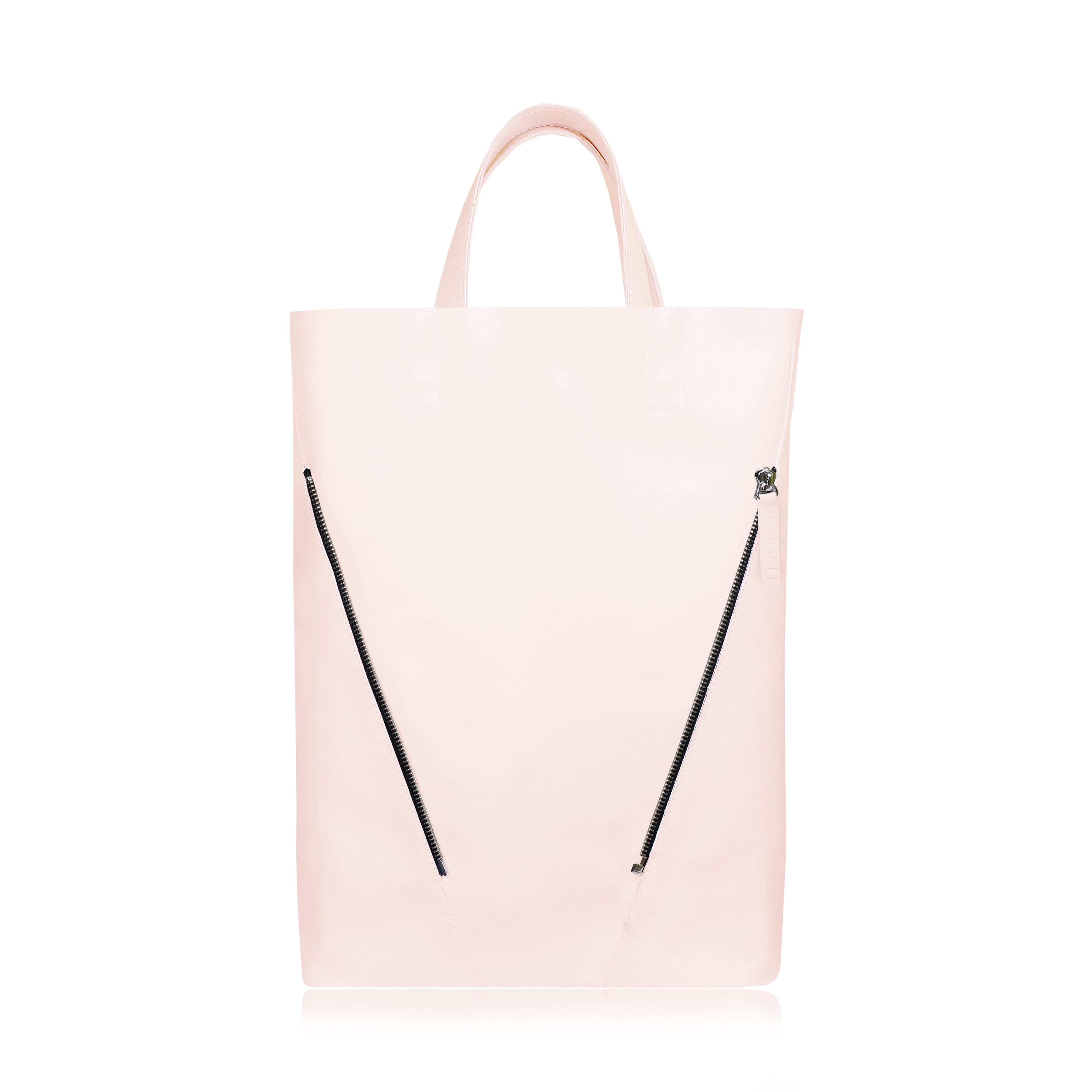 Egyedi púder rózsaszín Shopper