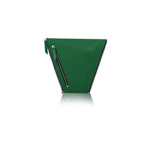 Zöld kistáska, paneltáska