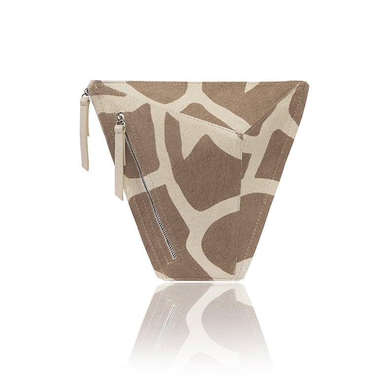 zsiráf mintás vengru táska paneltáska