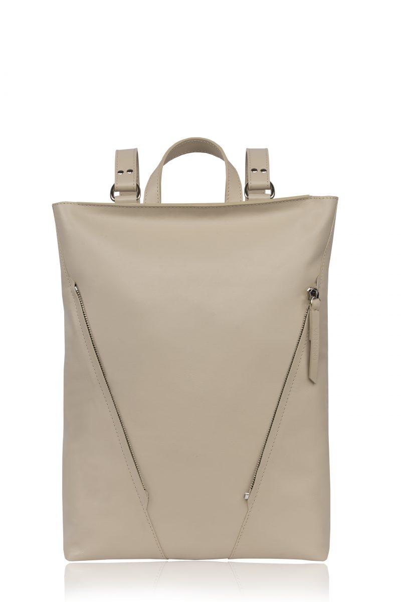 egyedi táska vengru hátizsák bézs variálható táska