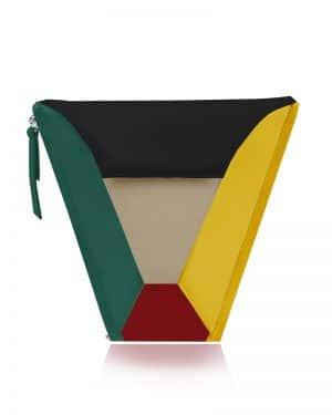 válltáska Vengru variálható táska paneltáska gem kistáska multi color