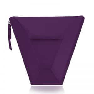 válltáska Vengru variálható táska paneltáska gem kistáska padlizsán