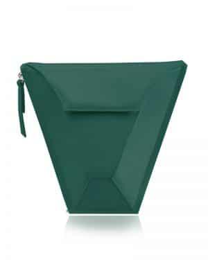 válltáska Vengru variálható táska paneltáska gem kistáska zöld